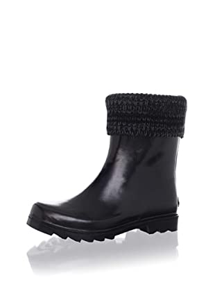 Juicy Couture Women's Manni Cuffed Boot (Black)