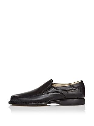 CallagHan Zapatos Pala Lisa (Negro)