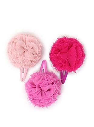 Liliella Pompom Hairclip Set