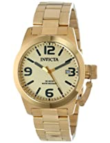 Invicta Analog Gold Dial Men's Watch - 14828