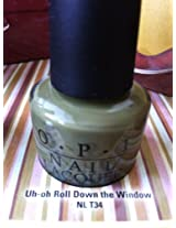 Opi Uh Oh Roll Down The Window (Opi Touring America Collection)