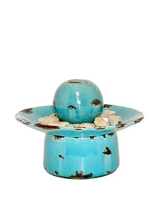 Pomeroy Gustav Ceramic Fountain, Teal