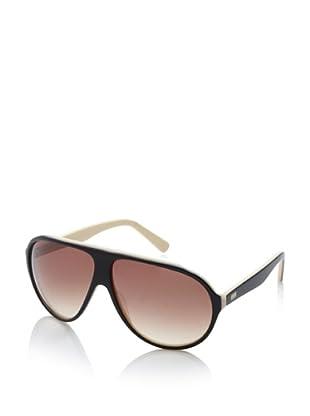 Gotz Switzerland Men's Aviator Sunglasses, Black/Yellow, One Size
