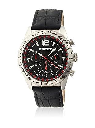 Breed Reloj con movimiento cuarzo japonés Brd5502 Negro 42  mm