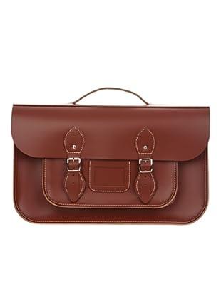 Satchel Bag Bolso Grande (marrón)