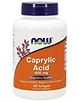 Now Foods, Caprylic Acid, 100 Softgels