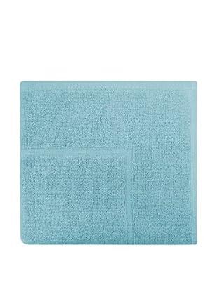 Manterol Alfombra Baño Rizo Algodón (Azul)