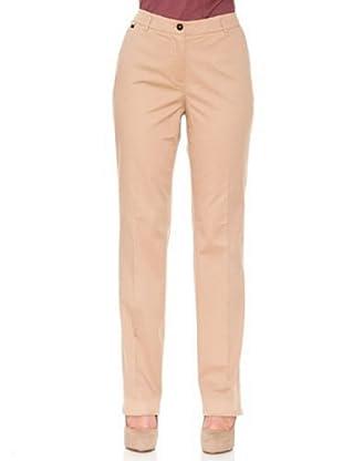 Cortefiel Pantalón Básico (Beige)