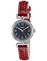 Timex Analog Black Dial Women's Watch - T2N6606S