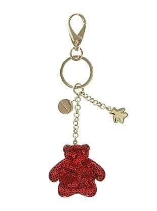 Furla Portachiavi Belleville Orso (Rosso)
