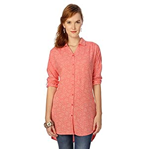 People Women's Regular Fit Shirt Medium