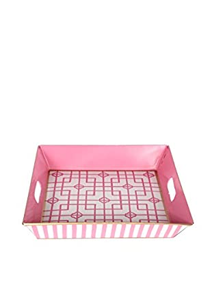 Jayes Isabelle Square Tray, Pink