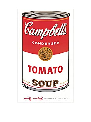 Artopweb Panel de Madera Campbell S Soup