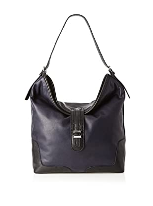 Charlotte Ronson Women's Classic Shoulder Bag (Navy)