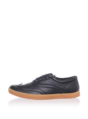 Generic Surplus Men's FG Wingtip Sneaker (Black)
