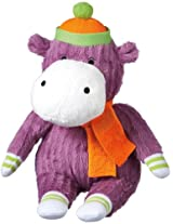 "Monkeez ""Emma"" Mini Purple Hippo Plush"