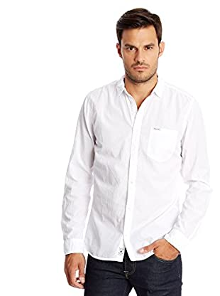 Pepe Jeans London Camisa Hombre William Blanco 2XL