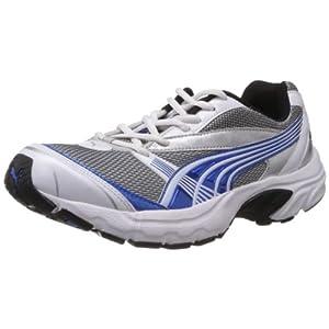 Puma Men's Velocity White Mesh Sport Running Shoes - 8 UK/India (42 EU)