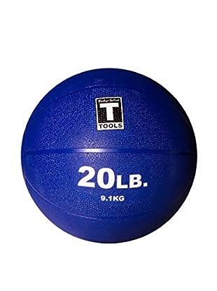 Body Solid 20 lbs. Medicine Ball, Dark Blue