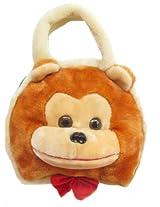 Tickles MONKEY HAND BAG Soft Toy Plush Kids Birthday Gift 20 cm