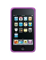 Amzer Silicone Skin Jelly Case for iPod touch 2G, 3G (Purple)