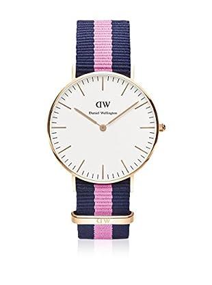 Daniel Wellington Reloj con movimiento cuarzo japonés Woman Classic Winchester blanco/gris 36 mm
