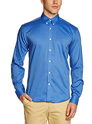 Selected Homme Camisa Hombre Xinyang (Azul)