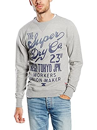 Superdry Felpa Worn Wash Crew