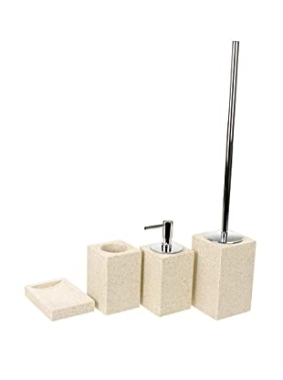 Gedy by Nameeks Oleandro Bathroom Accessory Set, Sand