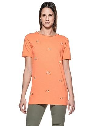 Crema Camiseta Lacitos (Naranja)