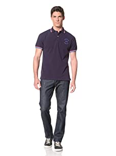 Moods of Norway Men's Per Are Pique Polo Shirt (Navy)