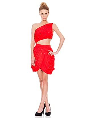 Rare Vestido Cut (Rojo)