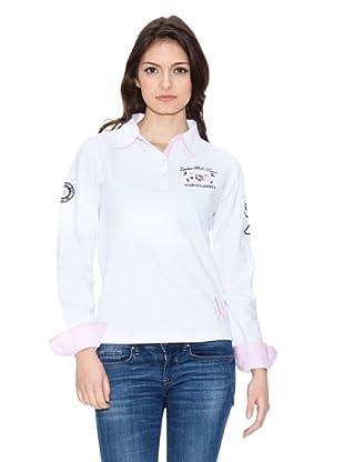Valecuatro Polo Escudos (Blanco)