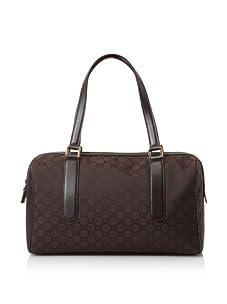 Gucci Women's Top Handle Bowler, Brown