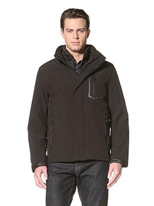Calvin Klein Men's 3-in-1 Systems Jacket (Black)