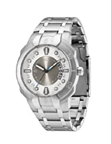 Police Analog Grey Dial Men's Watch - PL13396JS/04M