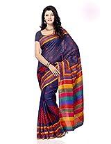 Shariyar Multi Color Art Silk Printed Saree PRG352