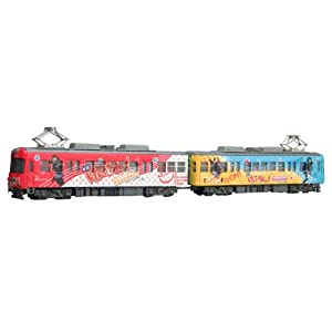 【クリックで詳細表示】Amazon.co.jp | 1/150 京阪600形 「けいおん!」ラッピング電車 (放課後ティータイムトレイン) | ホビー 通販