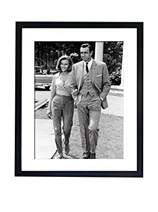 Mazali - Culture Décor Wandbild Honor Blackman, Sean Connery