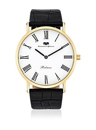 Rhodenwald & Söhne Uhr mit japanischem Quarzuhrwerk 10010121 schwarz 40 mm