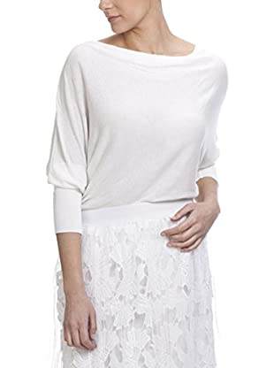 Tantra Pullover Knitted With Boat Neck