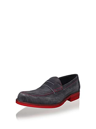 Donald J Pliner Men's Yuma Loafer (Black)