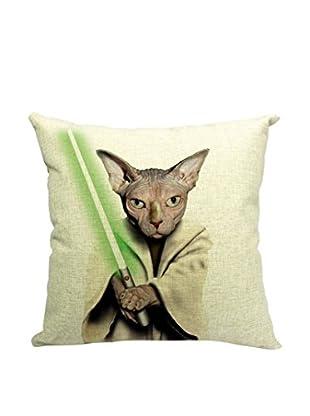 LO+DEMODA Funda De Cojín Cat Wars Multicolor