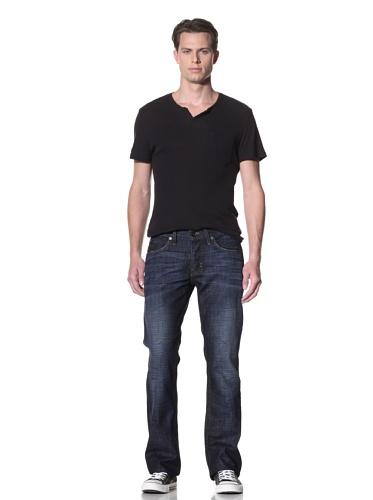 Dylan George Men's Alex Bootcut Jeans (Bogen Blue)