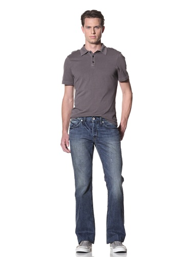 Dylan George Men's Alex Bootcut Jeans (Brakel Blue)