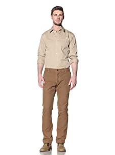 Just A Cheap Shirt Men's Larry Chino Pants (Brown)