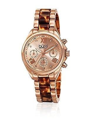 Burgi Uhr mit Schweizer Quarzuhrwerk BUR130RGBR 32.5 mm