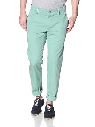Mason's Men's NY Roso Flat-Front Pant (Mint)