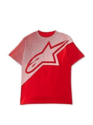 Alpinestars Camiseta Printed Short (Rojo)