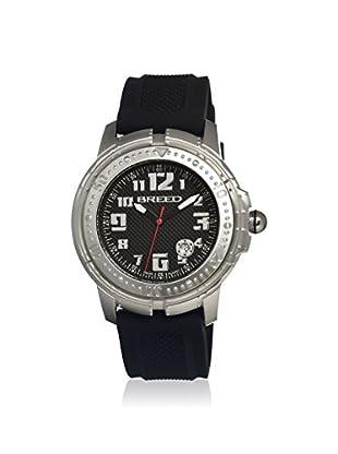 Breed Men's BRD0902 Mach 1 Black Silicone Watch